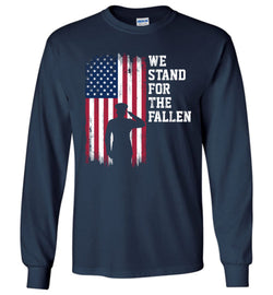 We Stand for the Fallen Long-Sleeve T-Shirt