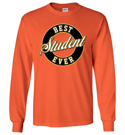 Best Student Ever Long-Sleeve T-Shirt (Youth Sizes)