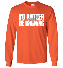 I'd Rather Be Droning Long-Sleeve T-Shirt