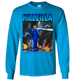 Anti-Hillary Hillzilla Gildan Long-Sleeve T-Shirt - by DV8s.com