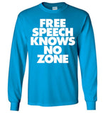Free Speech Knows No Zone Long-Sleeve T-Shirt