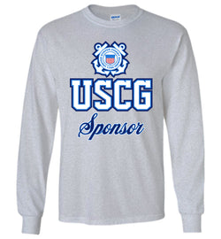 USCG Coast Guard Sponsor Long-Sleeve T-Shirt