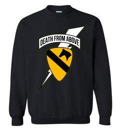 Death from Above/Dealers in Death 2-Sided Sweatshirt
