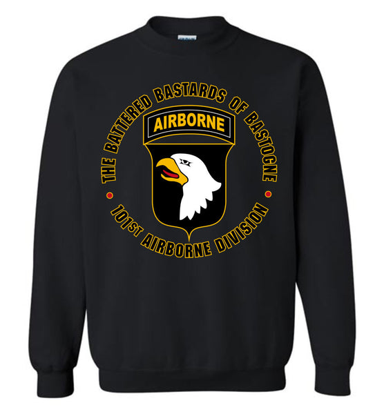 "101st Airborne ""Battered Bastards of Bastogne"" Sweatshirt"