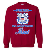 Proud U.S. Coast Guard Brat Sweatshirt