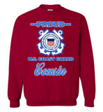 Proud U.S. Coast Guard Cousin Sweatshirt