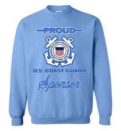 Proud U.S. Coast Guard Sponsor Sweatshirt