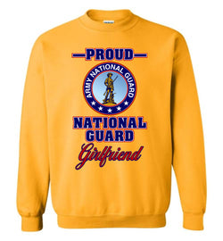 Proud National Guard Girlfriend Sweatshirt