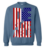 Deplorable Anti-Hillary Gildan Crewneck Sweatshirt - by DV8s.com