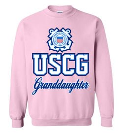 USCG Coast Guard Granddaughter Sweatshirt
