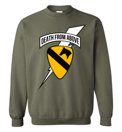 Death from Above - 1st Air Cav Army Sweatshirt