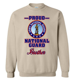Proud National Guard Brother Sweatshirt