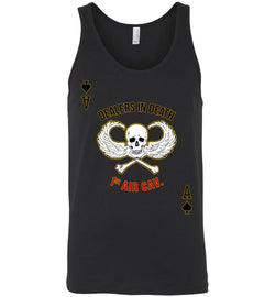 Dealers in Death - 1st Air Cav Army Unisex Tank