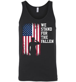 We Stand for the Fallen Unisex Tank