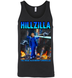 Anti-Hillary Hillzilla Canvas Unisex Tank - by DV8s.com