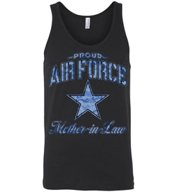 Proud Air Force Mother-in-Law Unisex Tank (Camo)