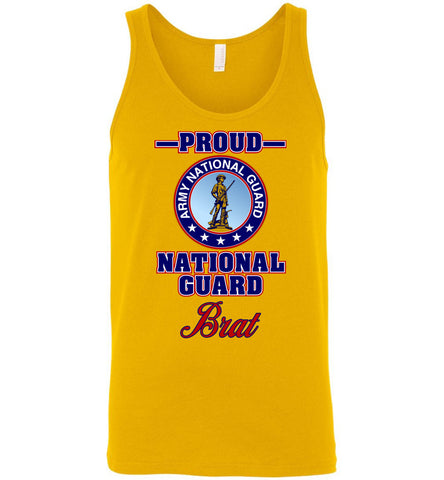 Proud National Guard Brat Unisex Tank