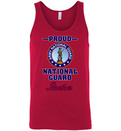Proud National Guard Brother Unisex Tank