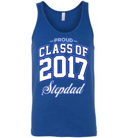 Proud Class of 2017 Stepdad Unisex Tank
