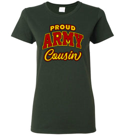 Proud Army Cousin Women's T-Shirt