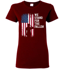 Women's We Stand for the Fallen T-Shirt