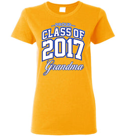 Proud Class of 2017 Grandma Women's T-Shirt