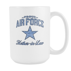 Air Force Mother-in-Law Coffee Mug (Camo)