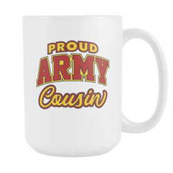 Proud Army Cousin Coffee Mug