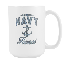 Navy Fiance Coffee Mug (Camo)