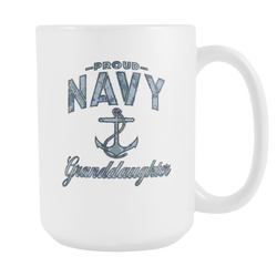 Navy Granddaughter Coffee Mug (Camo)