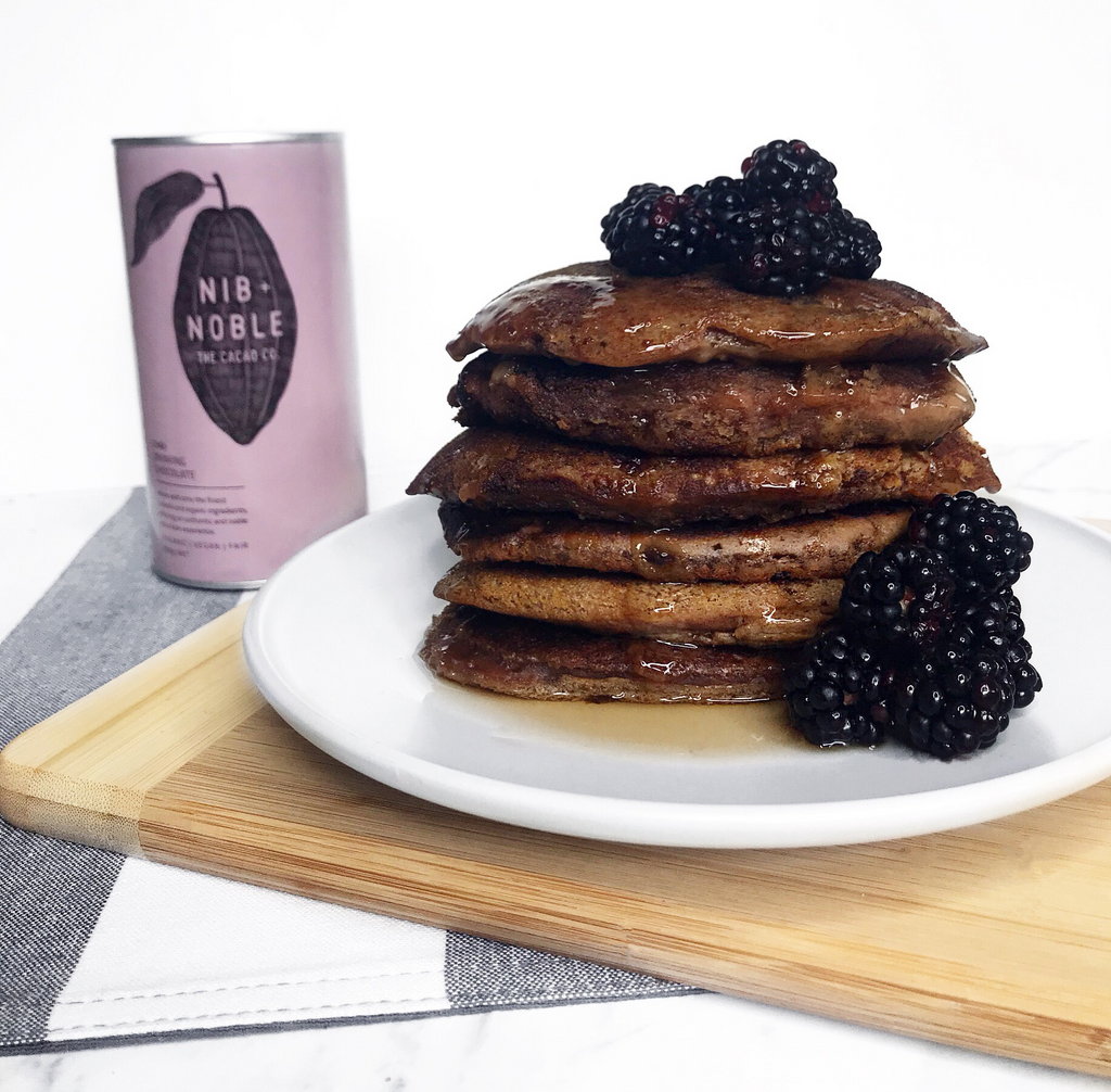 Gluten Free Vegan Buckwheat and Chai Pancakes