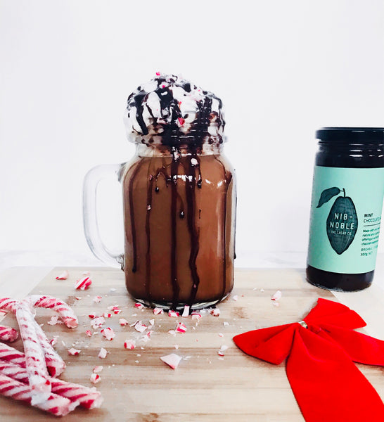 Organic Vegan Mint Hot Chocolate
