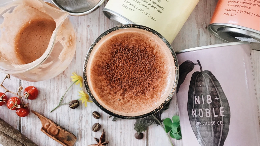 Organic Dairy free Hot Chocolate Flavoured Drinking Chocolate