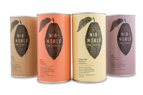 Organic Drinking Chocolate Pack - Nib and Noble