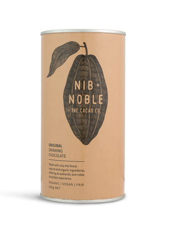 Nib and Noble Drinking Chocolate Original Organic Drinking Chocolate