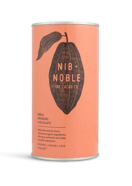 Nib and Noble Drinking Chocolate Chilli Organic Drinking Chocolate