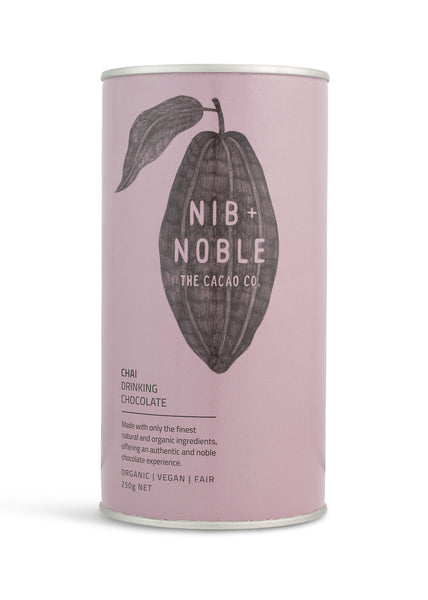 Nib and Noble Drinking Chocolate Organic Drinking Chocolate Pack
