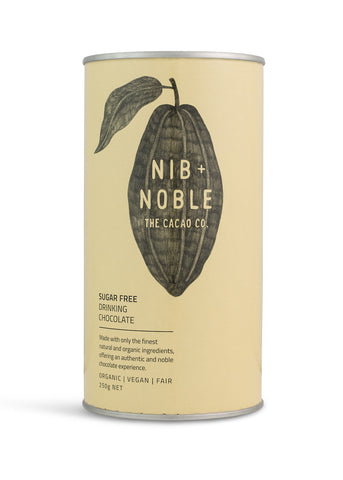 Sugar Free Organic Drinking Chocolate - Nib and Noble