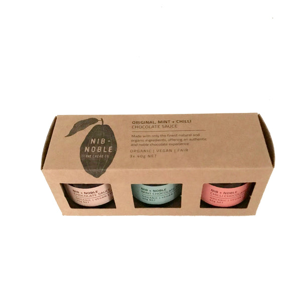 Naturally Choc Chocolate Sauce Organic Chocolate Sauce Small Gift Box