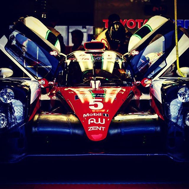 Another pic from last Sunday's official test at LeMans...