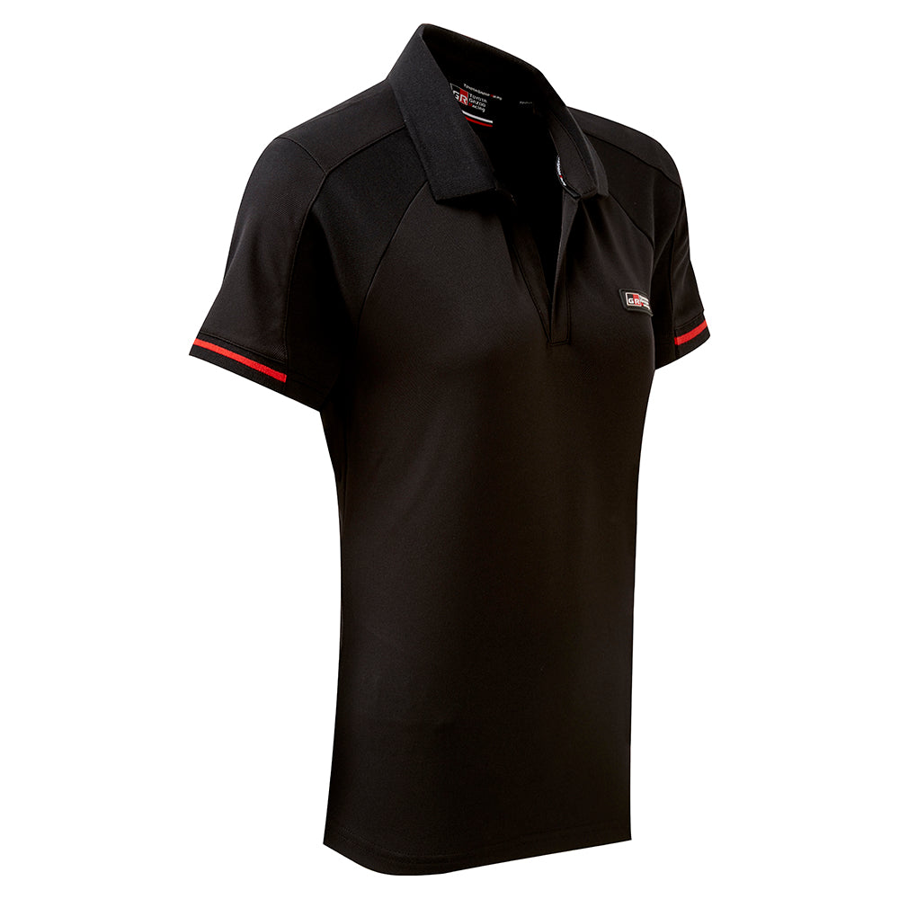 Toyota Gazoo Racing Ladies Black Poloshirt