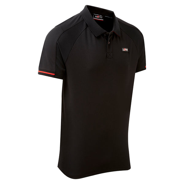 NEW Toyota Gazoo Racing Men's Black Poloshirt
