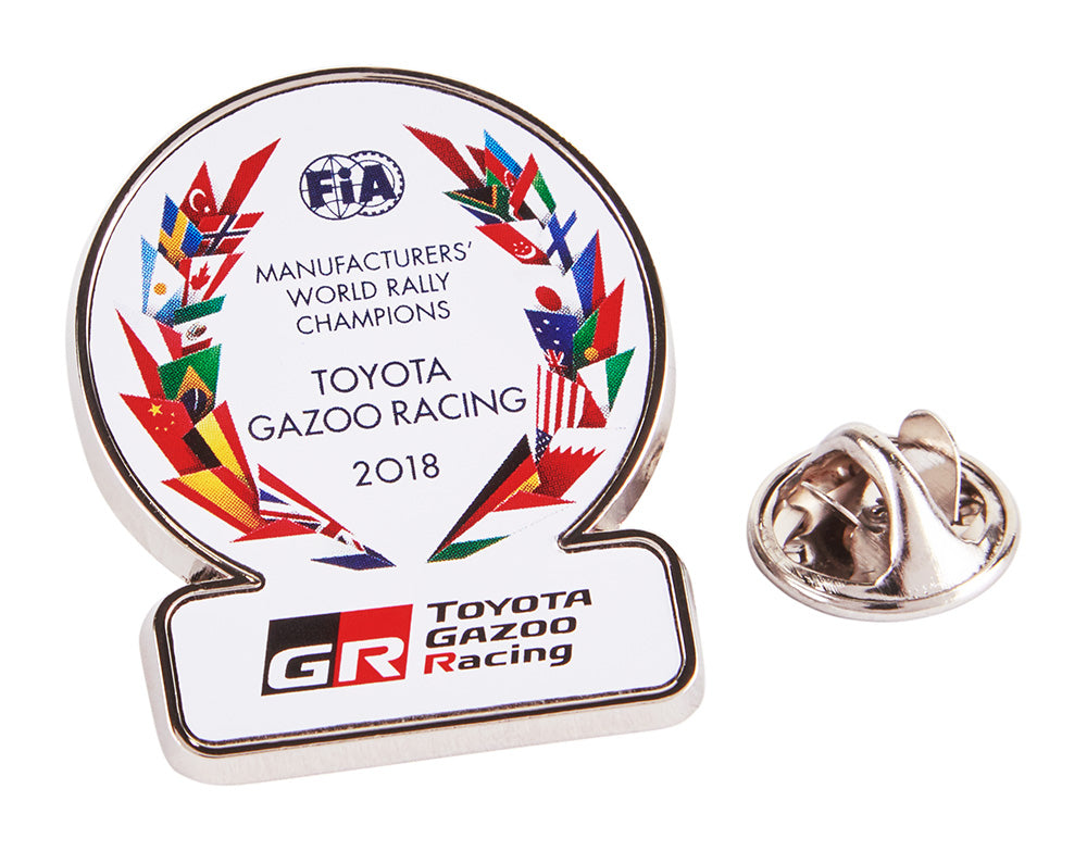 WRT Toyota Gazoo Racing Winning pin badge