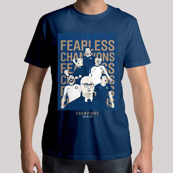 Champions 2015/16: Fearless Mens T-Shirt