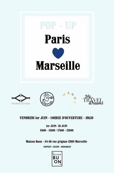 Yvonne loves Marseille