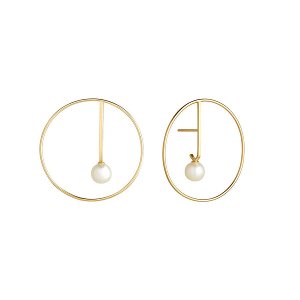 Shop the Astra New Moon Earrings