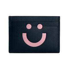 Shop the RUIFIER Happy Card Holder Navy/Rose Pink