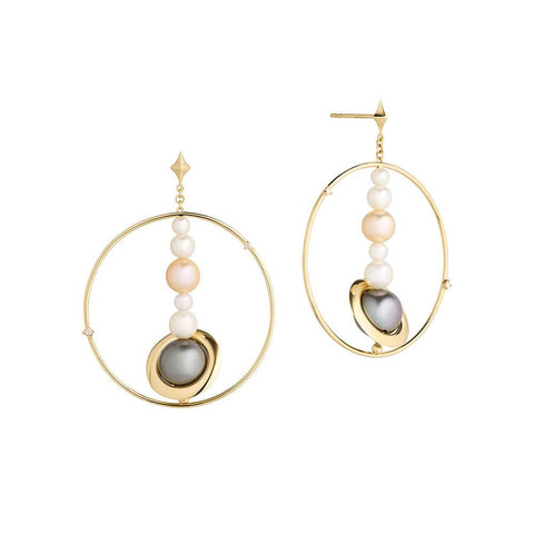Cosmo Solar System Earrings