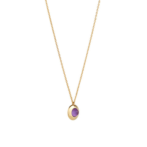 Shop the RUIFIER Gems of Cosmo Amethyst Necklace