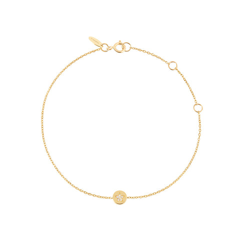Shop the RUIFIER Modern Words Fine Star Bracelet